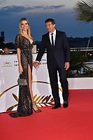 CANNES, FRANCE. May 25, 2019: Antonio Bandera & Nicole Kimpel at the Palme d'Or Awards photocall at the 72nd Festival de Cannes.<br /> Picture: Paul Smith / Featureflash