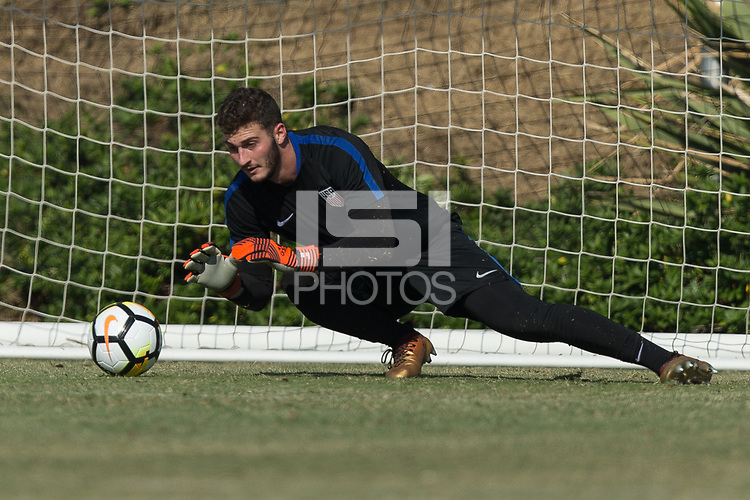 Carson, CA - January 12, 2018: The USMNT trains during their annual January camp in California.