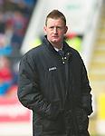St Johnstone v Dundee Utd....21.04.12   SPL.Steve Lomas looks on.Picture by Graeme Hart..Copyright Perthshire Picture Agency.Tel: 01738 623350  Mobile: 07990 594431