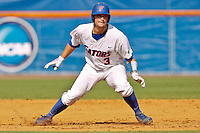 June 03, 2011:    Florida Gators catcher Mike Zunino (3) runs the bases during NCAA Gainesville Regional action between Manhattan Jaspers  and Florida Gators played at Alfred A. McKethan Stadium on the campus of Florida University in Gainesville, Florida.  Florida defeated Manhattan 17-3.........