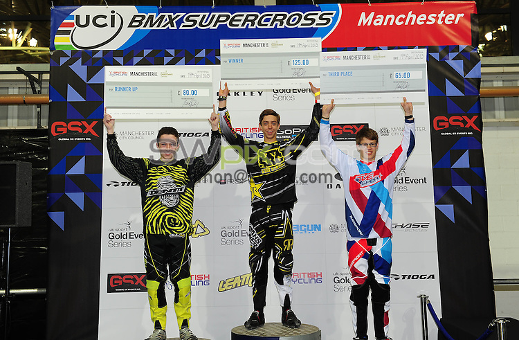 Picture by Simon Wilkinson/SWpix.com Manchester Cup UCI BMX Supercross Manchester England. 19/03/2013..copytight picture..simon wilkinson..simon@swpix.com  ..