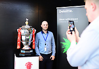 Picture by Simon Wilkinson/SWpix.com - 30/04/2019 - Rugby League RLWC2021 - Deloitte Partnership Deloitte Offices Manchester
