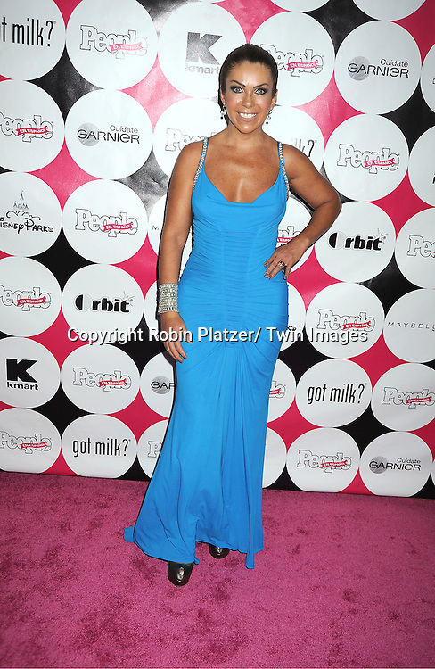 """Rocio Sanchez Azuara attending at The 15th Annual People En Espanols """" 50 Most Beautiful"""" event at Guastavino's in New York City on May 19, 2011."""