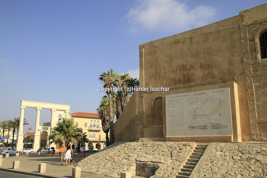 Israel, Jaffa fortifications and the Saraya building