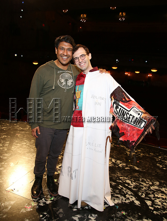 Vishal Vaidya during the Actors' Equity Opening Night Gypsy Robe Ceremony honoring Joseph Medeiros for 'Groundhog Day' at the August Wilson Theatre on April 17, 2017 in New York City