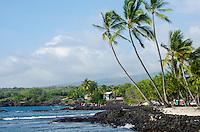 Two Step at Honaunau Bay, a popular snorkeling area next to Pu'uhonua o Honaunau (City of Refuge), Big Island.