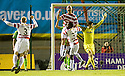 12/01/2011   Copyright  Pic : James Stewart.sct_jsp004_hamilton_v_celtic  .::  SIMON MENSING CELEBRATES AFTER HE SCORES HAMILTON'S FIRST GOAL  ::.James Stewart Photography 19 Carronlea Drive, Falkirk. FK2 8DN      Vat Reg No. 607 6932 25.Telephone      : +44 (0)1324 570291 .Mobile              : +44 (0)7721 416997.E-mail  :  jim@jspa.co.uk.If you require further information then contact Jim Stewart on any of the numbers above.........
