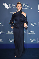 Natalie Dormer<br /> arriving for the 2018 IWC Schaffhausen Gala Dinner in Honour of the BFI at the Electric Light Station, London<br /> <br /> ©Ash Knotek  D3437  09/10/2018