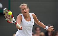 BARBORA ZAHLAVOVA STRYCOVA (CZE)<br /> <br /> The Championships Wimbledon 2014 - The All England Lawn Tennis Club -  London - UK -  ATP - ITF - WTA-2014  - Grand Slam - Great Britain -  27th June 2014. <br /> <br /> © Tennis Photo Network