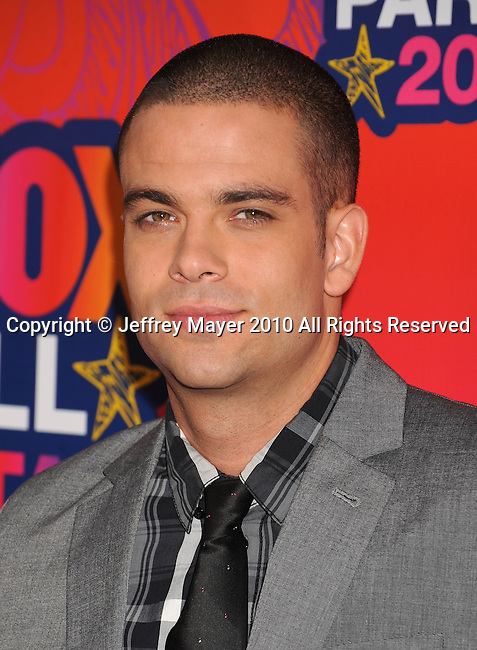SANTA MONICA, CA. - August 02: Mark Salling arrives at the FOX 2010 Summer TCA All-Star Party at Pacific Park - Santa Monica Pier on August 2, 2010 in Santa Monica, California.