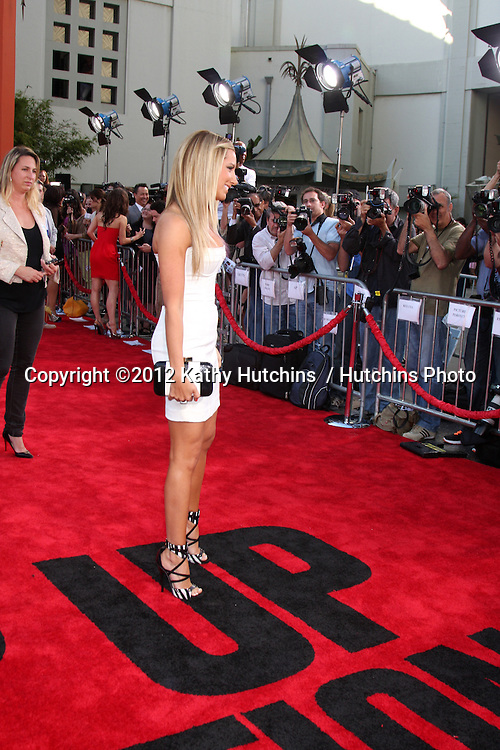 "LOS ANGELES - JUL 17:  Ashley Tisdale arrives at the ""Step Up Revolution"" Premiere at Graumans Chinese Theater on July 17, 2012 in Los Angeles, CA"