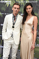 Jamie Campbell Bower and Matilda Lowther<br /> arrives for the Serpentine Gallery Summer Party 2016, Hyde Park, London.<br /> <br /> <br /> ©Ash Knotek  D3138  06/07/2016