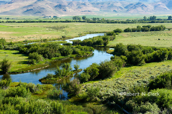 Silver Creek Preserve operated by the Nature Conservancy, near Sun Valley, Idaho