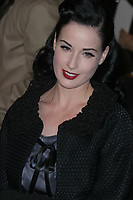 DITA VON TEESE 2006<br /> Marc Jacobs Fashion Show at the Armory<br /> Photo By John Barrett/PHOTOlink.net / MediaPunch