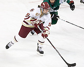 Alex Carpenter (BC - 5) - The Boston College Eagles defeated the Dartmouth College Big Green 4-3 on Sunday, October 23, 2011, at Kelley Rink in Conte Forum in Chestnut Hill, Massachusetts.