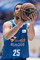 San Pablo Burgos Alex Lopez during Liga Endesa match between San Pablo Burgos and Monbus Obradoiro at Coliseum Burgos in Burgos, Spain. April 01, 2018. (ALTERPHOTOS/Borja B.Hojas) /NORTE PHOTO NORTEPHOTOMEXICO