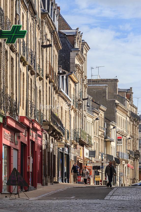 France, Orne (61), Alençon, la Grande Rue // France, Orne, Alencon, the Grande Rue