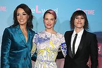 LOS ANGELES, CA - DECEMBER 2: Jennifer Beals, Leisha Hailey and Katherine Moennig at The L Word: Generation Q Premiere at Regal Cinemas LA Live in Los Angeles, California on December 2, 2019. Credit: Faye Sadou/MediaPunch