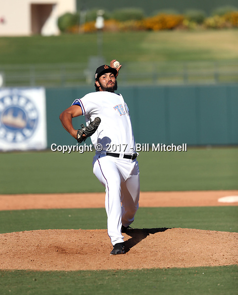 Adam Choplick - Surprise Saguaros - 2017 Arizona Fall League (Bill Mitchell)
