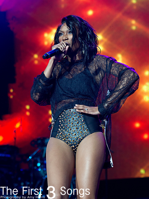 Brandy performs at the 2013 Essence Festival at the Mercedes-Benz Superdome in New Orleans, Louisiana.