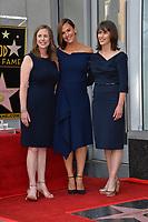 LOS ANGELES, CA. August 20, 2018: Jennifer Garner, Susannah Kay Garner Carpenter & Melissa Garner Wylie at the Hollywood Walk of Fame Star Ceremony honoring actress Jennifer Garner.
