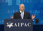 United States Representative Steve Scalise (Republican of Louisiana) speaks at the American Israel Public Affairs Committee (AIPAC) 2018 Policy Conference at the Washington Convention Center in Washington, DC on Tuesday, March 6, 2018.<br /> Credit: Ron Sachs / CNP