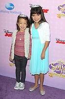 BURBANK, CA - NOVEMBER 10: Aubrey Anderson Emmons and Chloe Noelle at the premiere of Disney Channels' 'Sofia The First: Once Upon a Princess' at Walt Disney Studios on November 10, 2012 in Burbank, California. Credit: mpi28/MediaPunch Inc. /NortePhoto