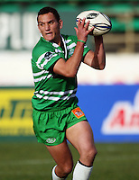 Manawatu first five Aaron Cruden during the Air NZ Cup preseason match between Manawatu Turbos and Wellington Lions at FMG Stadium, Palmerston North, New Zealand on Friday, 17 July 2009. Photo: Dave Lintott / lintottphoto.co.nz