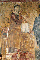 Christ,fresco,founder's composition,nave,northern wall,Milesheva  Monastery of Ascension of the Lord , 1234-1235