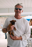 David Shorr at Puppies & Parties Presents Malibu Beach Puppy Party (Photo by Tiffany Chien/Guest Of A Guest)