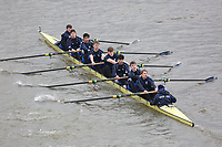 Crew: 158   Bedford School Boat Club   School First J15 8<br /> <br /> Schools' Head of the River 2018<br /> <br /> To purchase this photo, or to see pricing information for Prints and Downloads, click the blue 'Add to Cart' button at the top-right of the page.