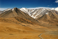For centuries the caravan path that is now the newly paved 400 kilometer Karakoram Highway was used by travelers of the Silk Road between Islamabad and Kashgar through the Khunjerab Pass. It is here that four of the world's great mountain ranges converge on China's western border to form the Pamir Highland..