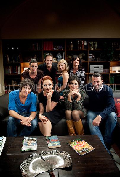 On the television set of the VTM telenovelle soap Ella (Belgium, 07/10/2010)