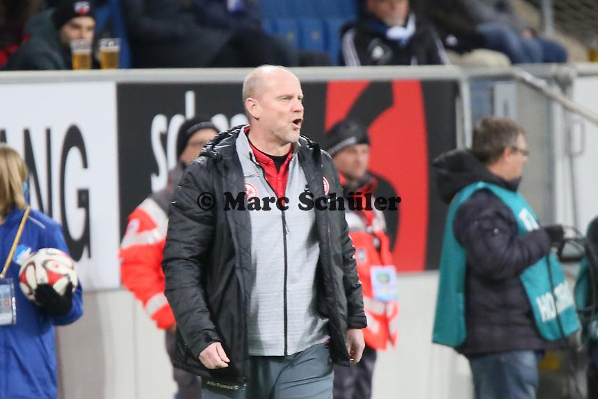 Trainer Thomas Schaaf (Eintracht) - TSG 1899 Hoffenheim vs. Eintracht Frankfurt, WIRSOL Neckar Arena Sinsheim