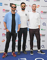 Bastille at the Nordoff Robbins O2 Silver Clef Awards 2018, Grosvenor House Hotel, Park lane, London, England, UK, on Friday 06 July 2018.<br /> CAP/CAN<br /> &copy;CAN/Capital Pictures
