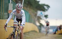 Marianne Vos (NLD)<br /> <br /> UCI Worldcup Heusden-Zolder Limburg 2013
