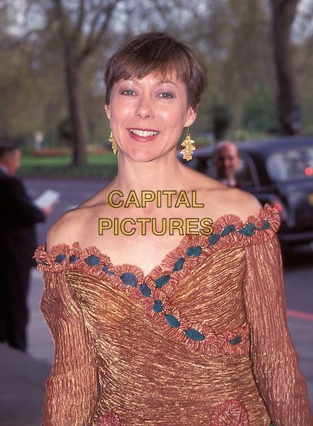 JENNY AGUTTER.strapless dress.Ref: 9589.www.capitalpictures.com.sales@capitalpictures.com.© Capital Pictures
