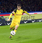16.03.2019, OLympiastadion, Berlin, GER, DFL, 1.FBL, Hertha BSC VS. Borussia Dortmund, <br /> DFL  regulations prohibit any use of photographs as image sequences and/or quasi-video<br /> <br /> im Bild Christian Pulisic (Borussia Dortmund #22)<br /> <br />       <br /> Foto &copy; nordphoto / Engler
