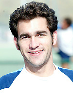 Hampstead / Teddington<br /> Premier Division<br /> Paddington Rec, Maida Vale, Oct 12, 2003<br /> Pic : Max Flego - (Tel 07870 553631)<br /> Tim Thompson