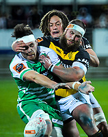 Action from the Ranfurly Shield Mitre 10 Cup rugby match between Taranaki and Manawatu at Yarrow Stadium in New Plymouth, New Zealand on Friday, 24 August 2018. Photo: Dave Lintott / lintottphoto.co.nz