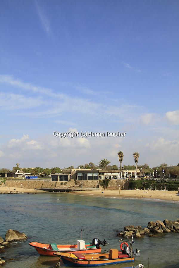 Israel, Sharon region, a view of Caesarea