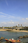 Israel, Sharon region, a view of Caesarea