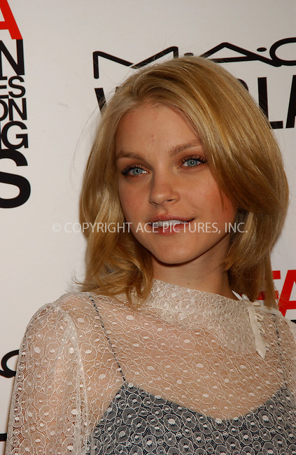 WWW.ACEPIXS.COM . . . . . ....June 13, 2006, New York City....Jessica Stam attends the Viva Glam Casino to benefit DIFFA. ......Please byline: KRISTIN CALLAHAN - ACEPIXS.COM.. . . . . . ..Ace Pictures, Inc:  ..(212) 243-8787 or (646) 769 0430..e-mail: info@acepixs.com..web: http://www.acepixs.com