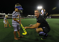 Pro League Hockey, Vantage Blacksticks v Belgium. Harbour Hockey Stadium, Auckland, New Zealand. Friday 1st February 2019. Photo: Simon Watts/Hockey NZ