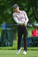 Brooke M. Henderson (CAN) watches her tee shot on 12 during the round 3 of the KPMG Women's PGA Championship, Hazeltine National, Chaska, Minnesota, USA. 6/22/2019.<br /> Picture: Golffile | Ken Murray<br /> <br /> <br /> All photo usage must carry mandatory copyright credit (© Golffile | Ken Murray)