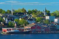 Port town in Lunenburg County. UNESCO World Heritage Site. <br /> Lunenberg<br /> Nova Scotia<br /> Canada