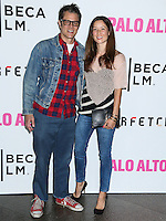 "LOS ANGELES, CA, USA - MAY 05: Johnny Knoxville, Naomi Nelson at the Los Angeles Premiere Of Tribeca Film's ""Palo Alto"" held at the Directors Guild of America on May 5, 2014 in Los Angeles, California, United States. (Photo by Celebrity Monitor)"