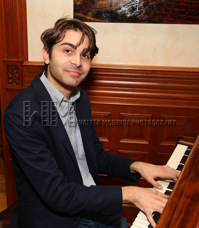Daniel Lazour attends the DGF Salon with Kyle Jarrow on November  1, 2018 at The Uterbetg Residence in New York City.
