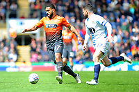 Cameron Carter-Vickers of Swansea City in action during the Sky Bet Championship match between Blackburn Rovers and Swansea City at Ewood Park in Blackburn, England, UK. Sunday 5th May 2019