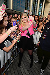 SUNRISE, FL - DECEMBER 21: Singer/songwriter Meghan Trainor pose with fans at Y100's Jingle Ball Village, Y100's Jingle Ball 2014 official pre-show at BB&T Center on December 21, 2014 in Sunrise, Florida.  (Photo by Johnny Louis/jlnphotography.com)